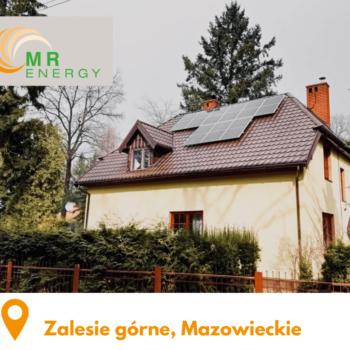 Zalesie górne, Mazowieckie