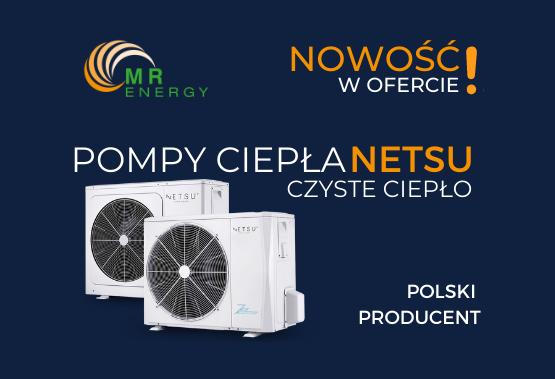 Dostawca pomp ciepła firmy NETSU